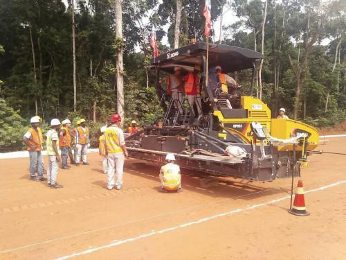 Chinese CHEC will deliver Kribi-Lolable motorway, under construction in Southern Cameroon, in 2018