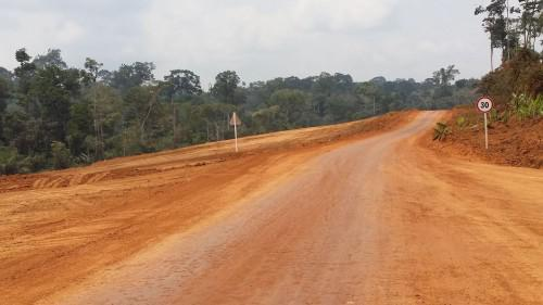 Yaoundé-Douala motorway: 70% of delivery period used, against only 40% of work completed