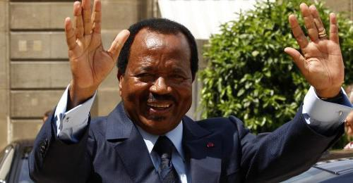 The Cameroonian Head of State, Paul Biya, will be visiting Italy from 20 to 22 March 2017