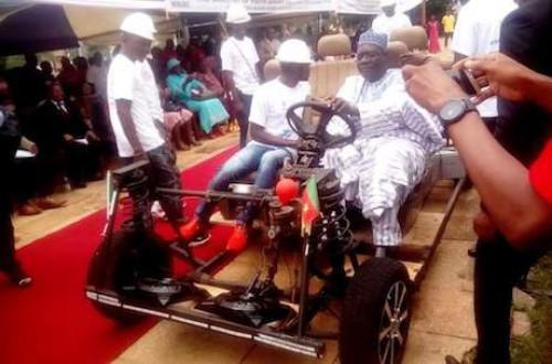 "Students of Maroua Polytechnic develop first environmentally friendly vehicle ""made in Cameroon"