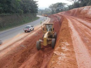 state-of-cameroon-begins-works-to-rehabilitate-bamenda-bafoussam-road