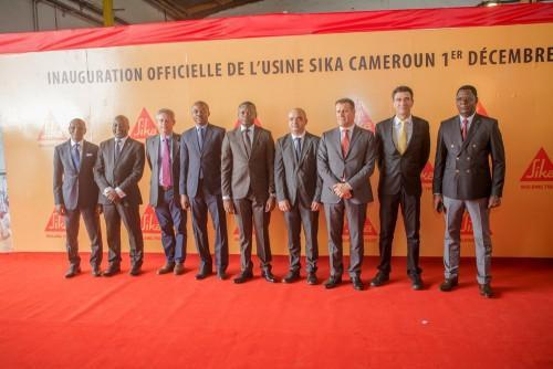 Switzerland's Sika Group pumps over CFA1bn in a production unit, in Douala