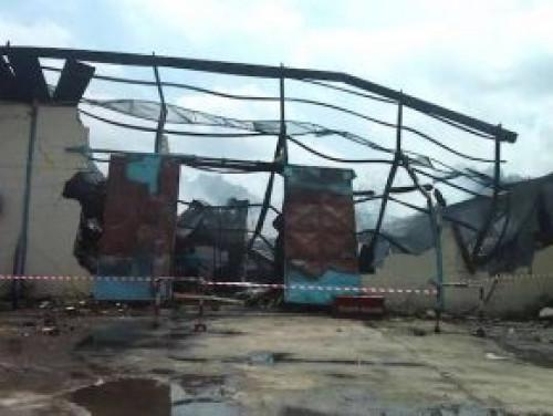 One of Biopharma's production plant consumed by fire in Bassa industrial zone, Douala