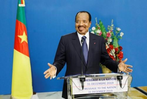 Paul Biya optimistic about economic situation in 2020 despite security tensions