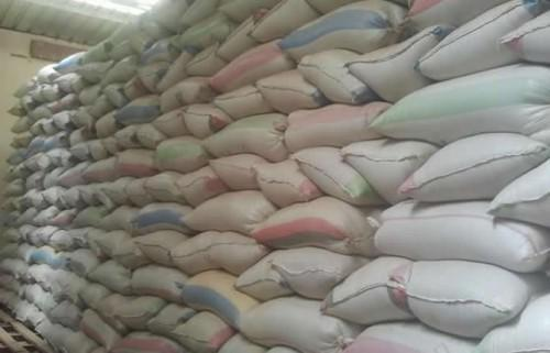 More than 2000 bags of rice were diverted from Cameroon's national Cereal board's stores