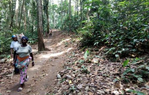 The people of Baka express interest in the management of their 60,000-ha forest land