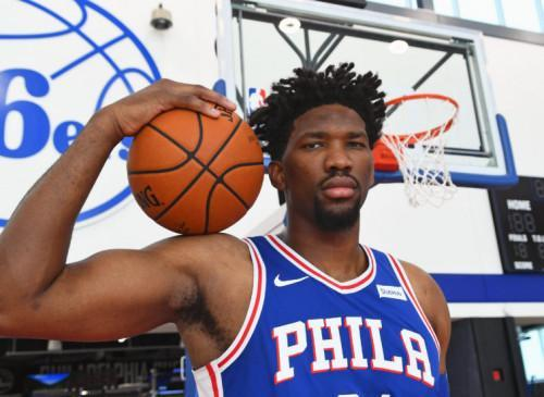 Cameroonian Joël Embiid becomes the highest paid NBA center, on a contract with Under Armour