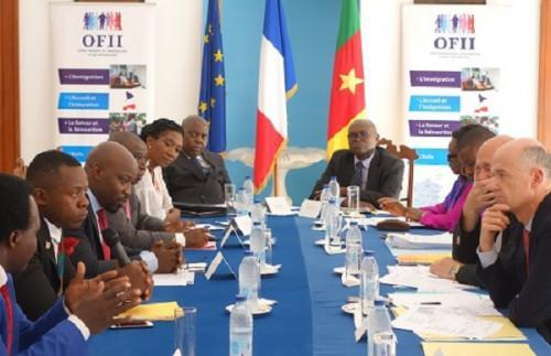 Cameroon: OFII helped reintegrate 110 residents who returned from France