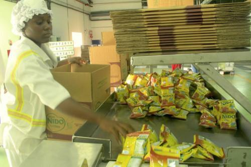 Nestlé Cameroon inaugurates a new milk products production unit in Douala