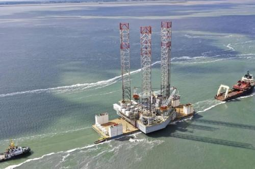 Cameroon launches the commissioning phase of a new gas platform offshore Kribi