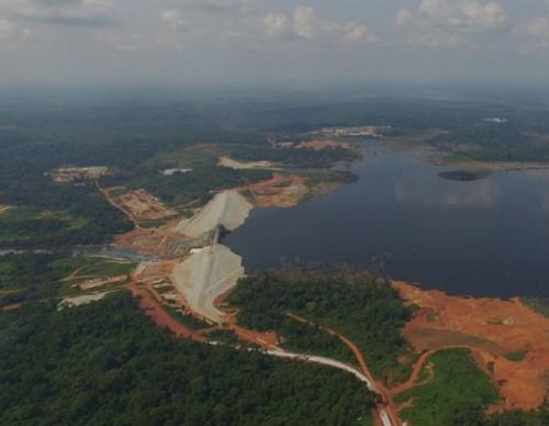 EDC receives 170 MW of guaranteed hydraulic power every year thanks to Lom Pangar dam