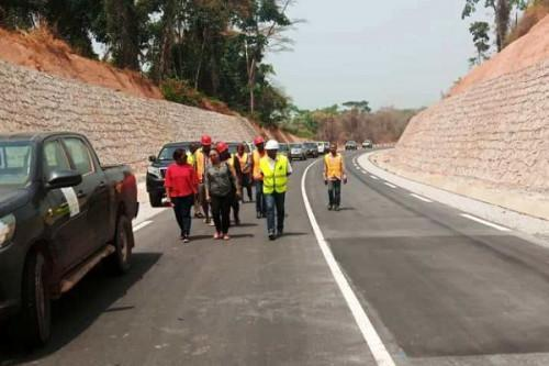 45-km Yoko-Lena road section open to the public