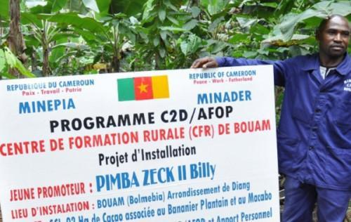 Cameroon : PCP-Afop to train 3,500 people in agropastoral and fishing sectors in 2020-2021