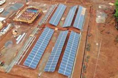 ENEO to take delivery of a 125Kwp solar plant in Lomié