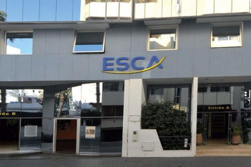 Moroccan business school ESCA advertises its trainings to Cameroonian students