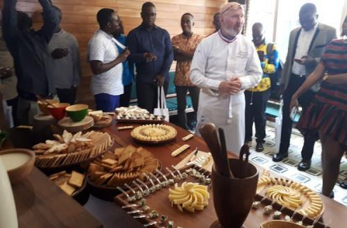 "European milk products' use at the heart of ""Afrogourmands,"" a gourmet event in Douala"