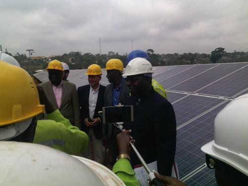 Eneo builds Cameroon's first solar/thermal hybrid plant in Djoum