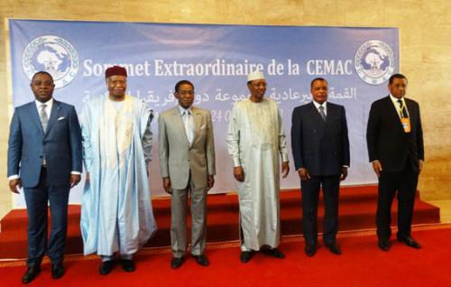 CEMAC Heads of State reiterate their commitment to a coordinated response to crisis