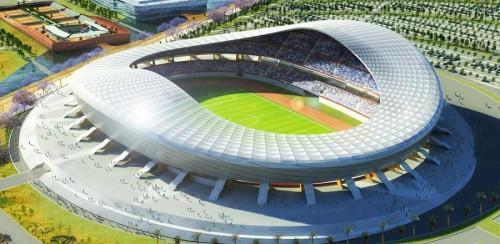 All the structures of Olembé stadium will be available by May 2018, Gruppo Piccini reveals