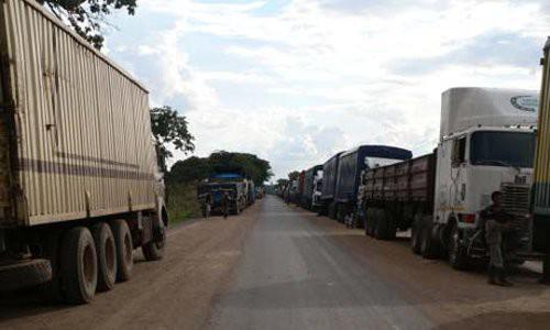 Cameroonians transport about 90% of the goods transited via Douala-Bangui, Central African transporters say