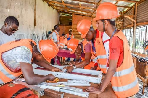 Cameroon : Igeaf BTP Sarl launches metal construction vocational training center in Yaoundé