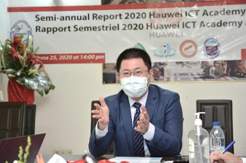 "Du Yin, General Manager of Huawei Cameroon : ""To help Cameroon to train as many ICT talents as possible"""