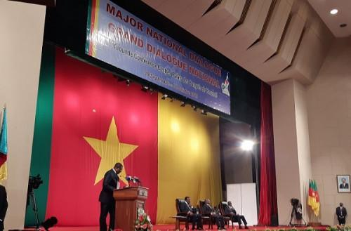 Cameroon: The national dialogue has started today, Sept 30, 2019