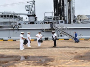 port-of-kribi-french-navy-command-and-supply-ship-bcr-somme-docks-in-prelude-to-naval-exercise-in-the-gulf-of-guinea