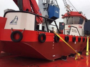 cameroon-douala-port-receives-its-new-beaver-50-dredger