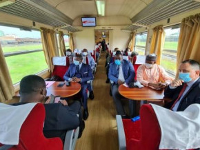 cameroon-minister-of-transport-takes-part-in-the-test-drive-of-the-yaounde-douala-trains-that-will-soon-be-relaunched