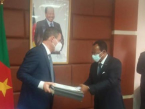 cameroon-italian-company-seas-signs-commercial-contract-for-the-construction-of-70-km-olounou-oveng-road-linking-to-gabon